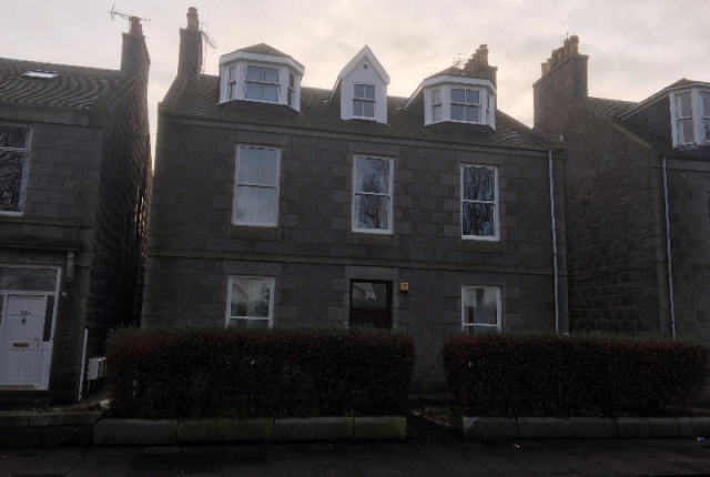 Thumbnail Flat to rent in University Road, Aberdeen, 3Dr
