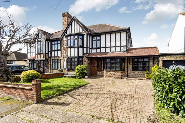 Thumbnail Semi-detached house for sale in Edward Close, Romford