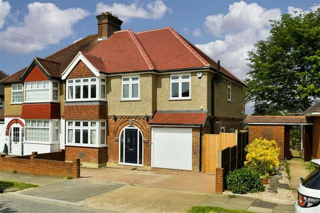 Thumbnail Semi-detached house for sale in Josephine Avenue, Lower Kingswood, Tadworth, Surrey
