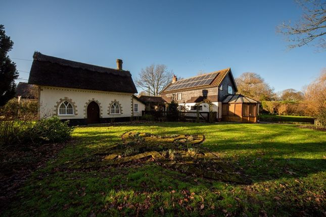 Thumbnail Detached house for sale in Broadway End, Gissing, Diss, Norfolk