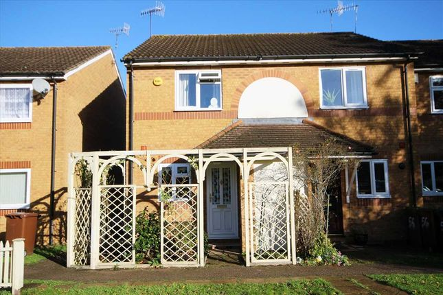 Thumbnail End terrace house for sale in Brambling Close, Bushey WD23.