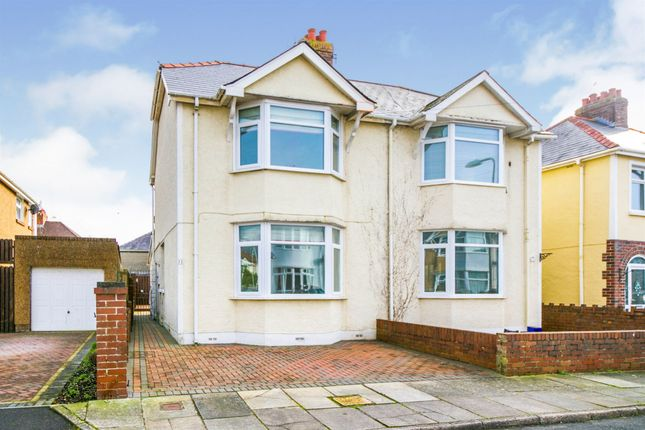 Thumbnail Semi-detached house for sale in Vernon Road, Porthcawl