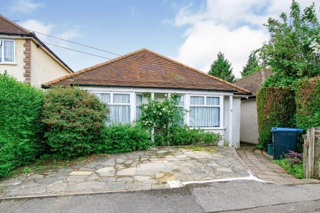 Thumbnail Bungalow for sale in Eldon Road, Caterham, Surrey