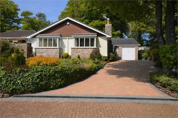 Thumbnail Detached bungalow for sale in Seymour Drive, Watcombe Park, Torquay, Devon.
