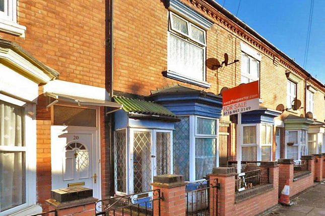 Thumbnail Terraced house for sale in Lancashire Street, Leicester