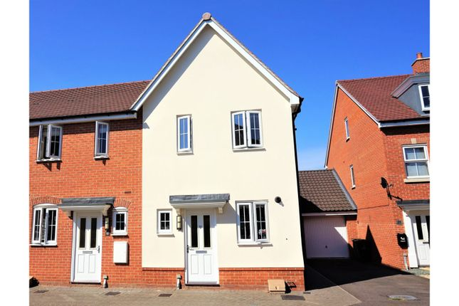 Thumbnail Semi-detached house for sale in Henry Everett Grove, Colchester