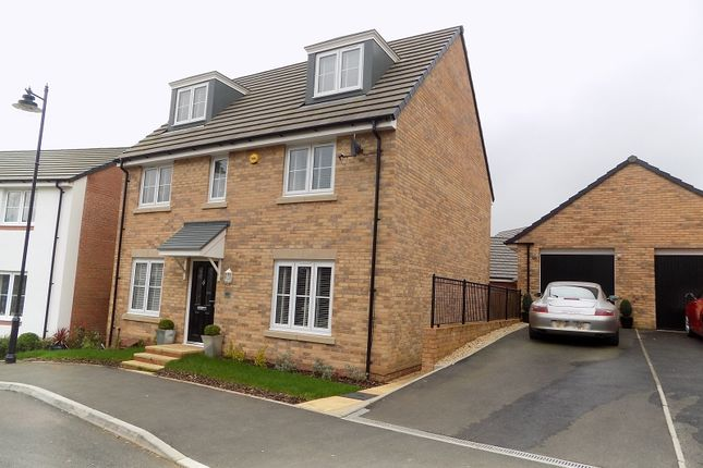 Thumbnail Detached house for sale in Clos Yr Eryr, Coity, Bridgend.