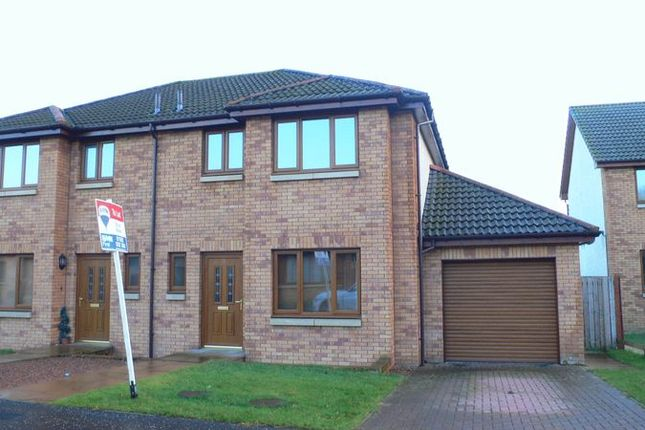 Thumbnail Semi-detached house to rent in Castleton Court, East Wemyss, Kirkcaldy