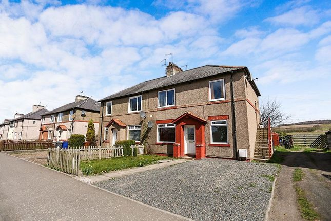 Thumbnail Flat for sale in New Hunterfield, Gorebridge