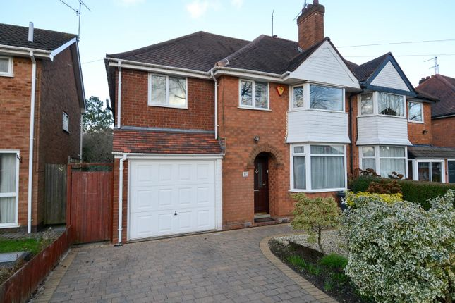 Thumbnail Semi-detached house for sale in Wychall Road, Northfield, Birmingham