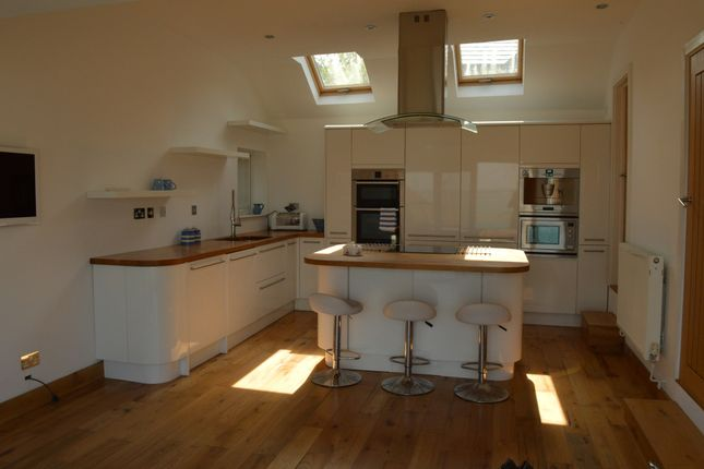Thumbnail Detached bungalow for sale in Shore Road, Gurnard, Isle Of Wight