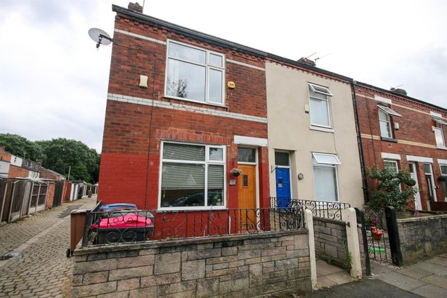 Thumbnail End terrace house to rent in Stelfox Street, Eccles, Manchester