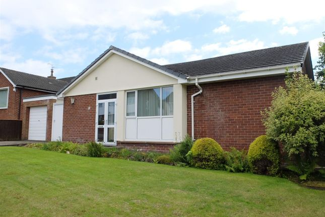 Thumbnail Detached bungalow for sale in Carlton Gardens, Stanwix, Carlisle