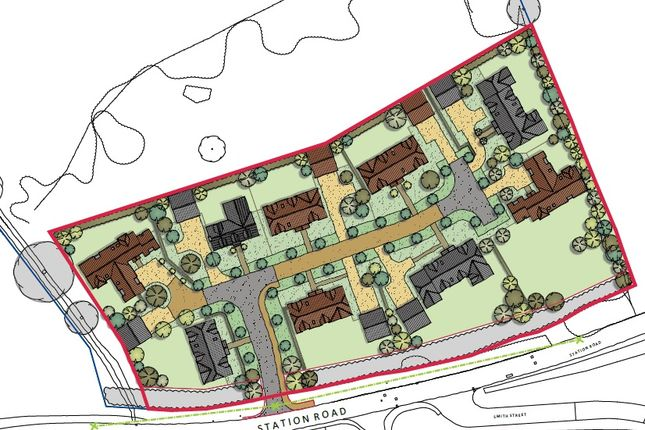 Thumbnail Land for sale in Station Road, Little Dunmow