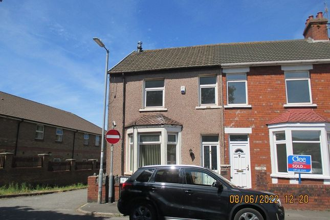 3 bed end terrace house for sale in Evelyn Terrace, Port Talbot, . SA13