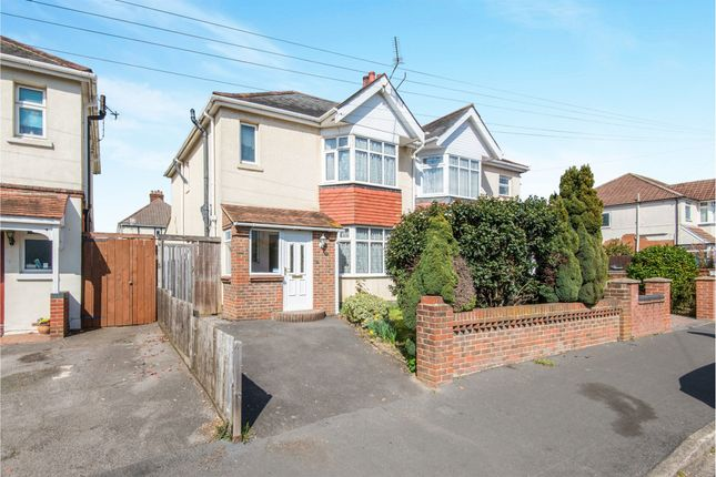 Thumbnail Semi-detached house for sale in Janson Road, Shirley, Southampton