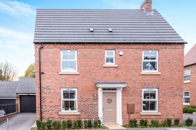 Thumbnail Detached house for sale in Sunloch Close, Burbage, Hinckley