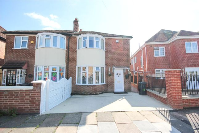Thumbnail Semi-detached house to rent in Pauline Avenue, Belgrave, Leicester, Leicestershire