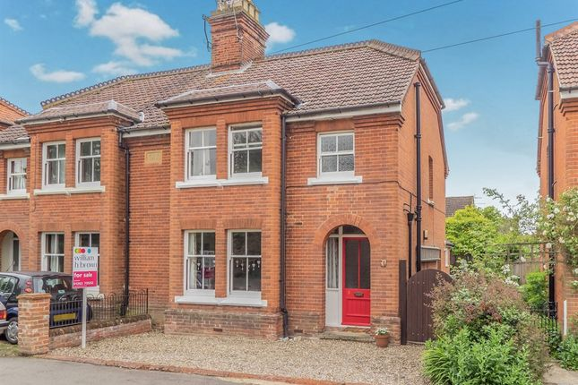 Thumbnail Semi-detached house for sale in Oakfield Road, Aylsham, Norwich