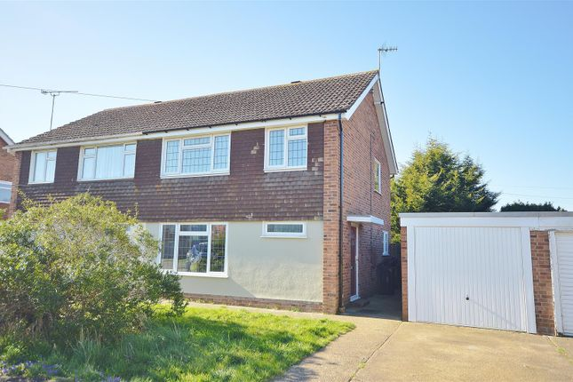 Thumbnail Semi-detached house to rent in Kersey Drive, Clacton-On-Sea