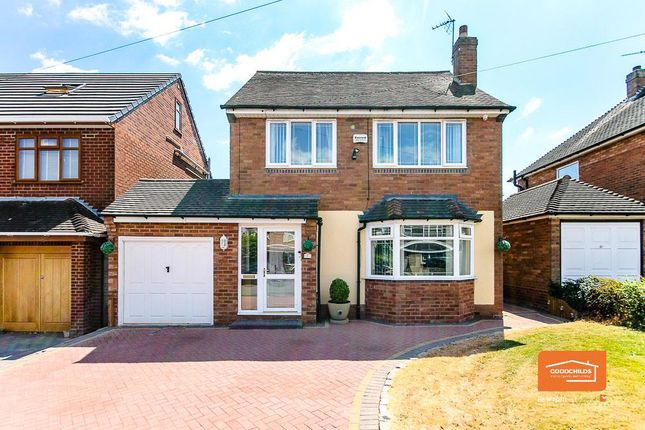 Thumbnail Detached house for sale in Baytree Road, Bloxwich