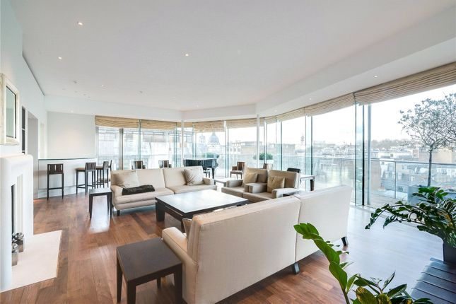 Thumbnail Flat for sale in Collier House, Brompton Road, London