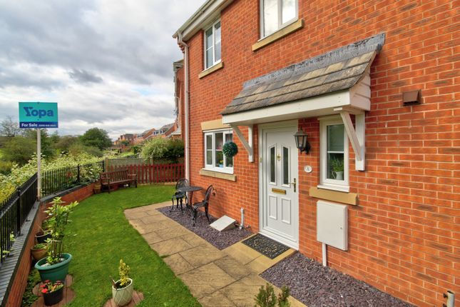 Thumbnail End terrace house for sale in Emperor Place, Kidderminster