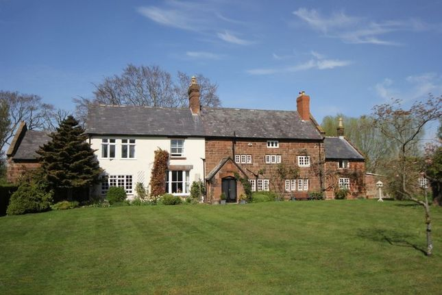 Thumbnail Detached house for sale in Pensby Hall Lane, Heswall, Wirral