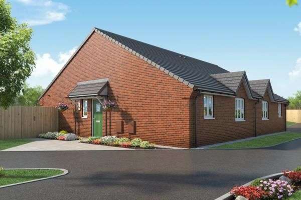 "Thumbnail Bungalow for sale in ""The Clover At Mill Farm, Tibshelf"" at Mansfield Road, Tibshelf, Alfreton"
