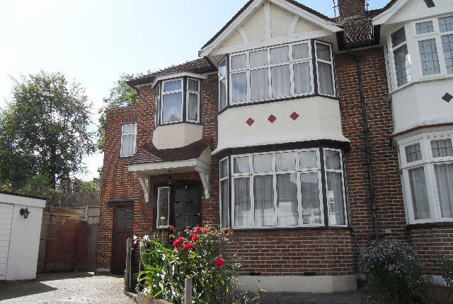 Thumbnail Semi-detached house to rent in Palace Court Gardens, Muswell Hill
