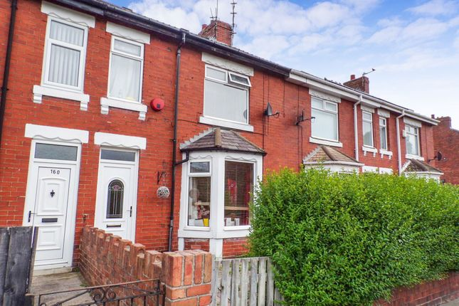 Thumbnail Terraced house to rent in Newbiggin Road, Ashington