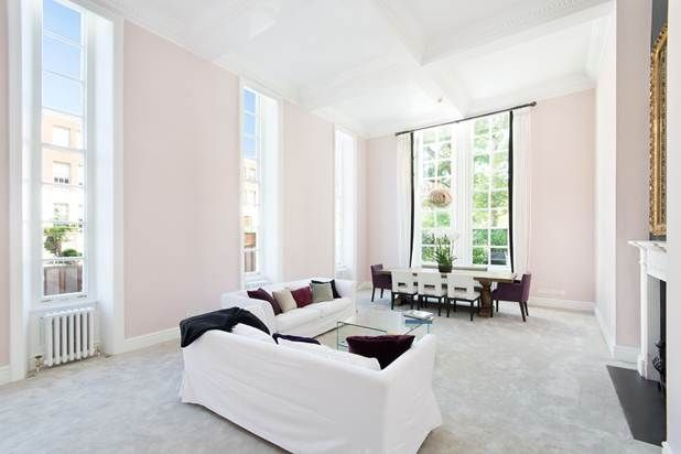Thumbnail Flat for sale in Melbury Road, London