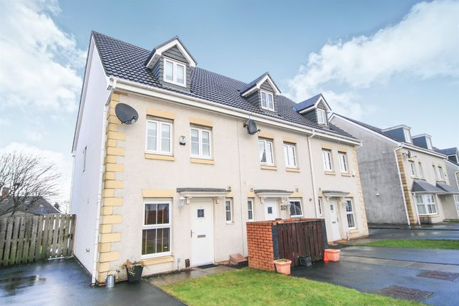 Thumbnail End terrace house for sale in Hawthorn Avenue, Cambuslang, Glasgow