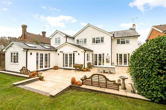 Thumbnail Detached house for sale in Oak End Way, Woodham, Surrey