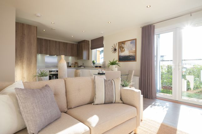 Thumbnail Flat for sale in Bleriot Gate, Station Road, Addlestone, Surrey