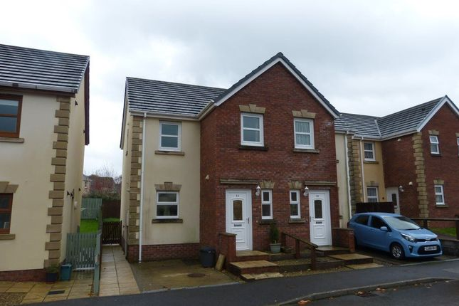 Thumbnail Semi-detached house to rent in Maes Abaty, Whitland, Carmarthenshire