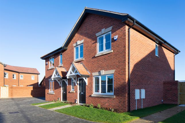 Thumbnail Semi-detached house for sale in Hicfield Road, Beck Row, Bury St. Edmunds