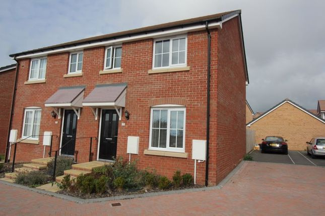 Thumbnail Semi-detached house for sale in Railway Road, Rhoose, Barry