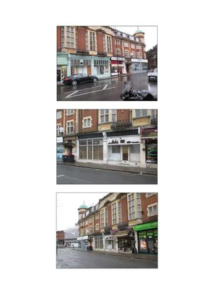 Thumbnail Retail premises for sale in Regents Park Rd, London