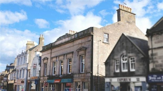 Thumbnail Studio to rent in Caledonian House, 164 High Street, Elgin, Moray