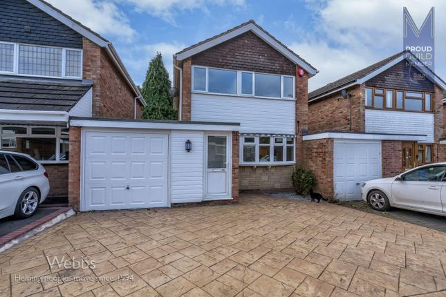 Thumbnail Link-detached house to rent in Copperkins Road, Hednesford, Cannock