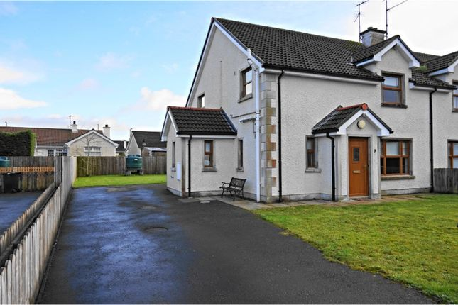 Thumbnail Semi-detached house for sale in Rosscah View, Enniskillen