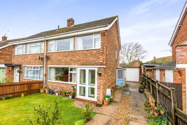 3 bed semi-detached house for sale in Southlands Drive, Grantham