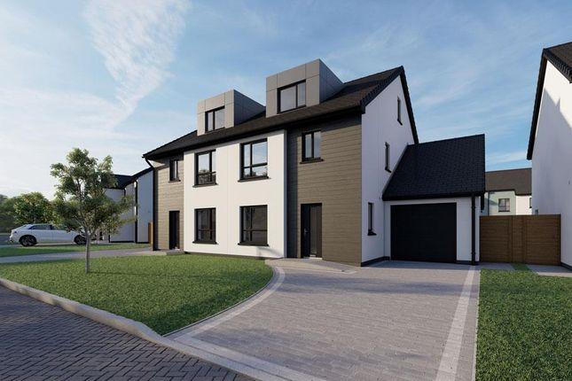 Thumbnail Semi-detached house for sale in Plot 65, The Meadows, Douglas Road, Castletown