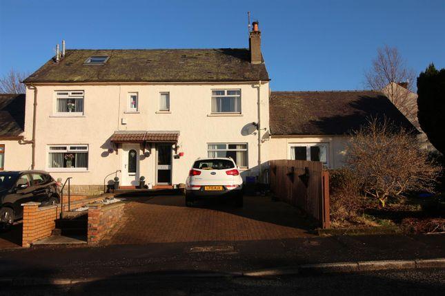 Thumbnail Terraced house for sale in Hillside Avenue, Kilmacolm