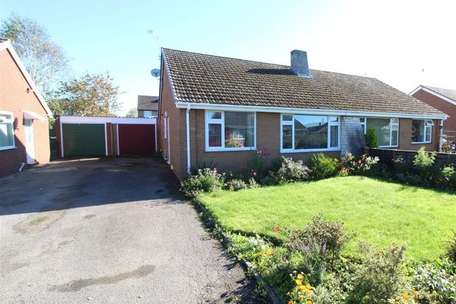 Thumbnail Semi-detached bungalow for sale in Roden Grove, Wem, Shrewsbury