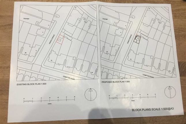 Thumbnail Land for sale in Compton Road, Winchmore Hill, London