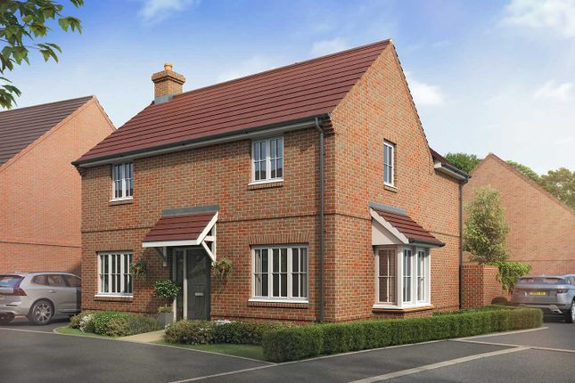 "Thumbnail Detached house for sale in ""The Elmwood"" at Boorley Green, Winchester Road, Botley, Southampton, Botley"
