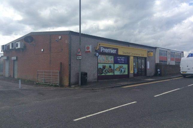 Thumbnail Retail premises for sale in Main Street, Shieldhill, Falkirk
