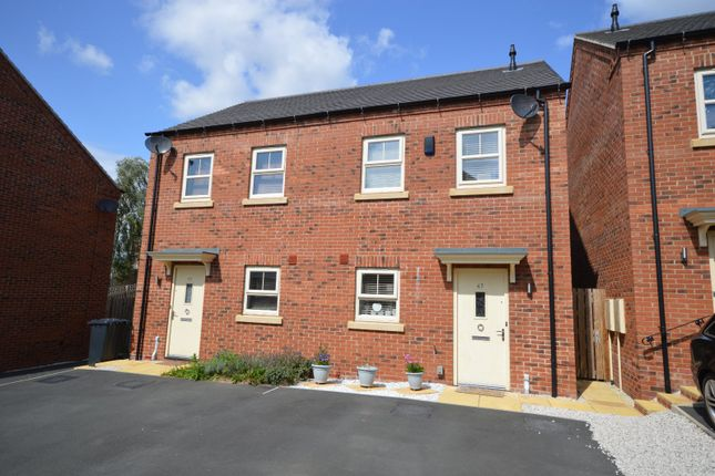 Thumbnail Semi-detached house for sale in Rowan Drive, Midway, Swadlincote, Derbyshire